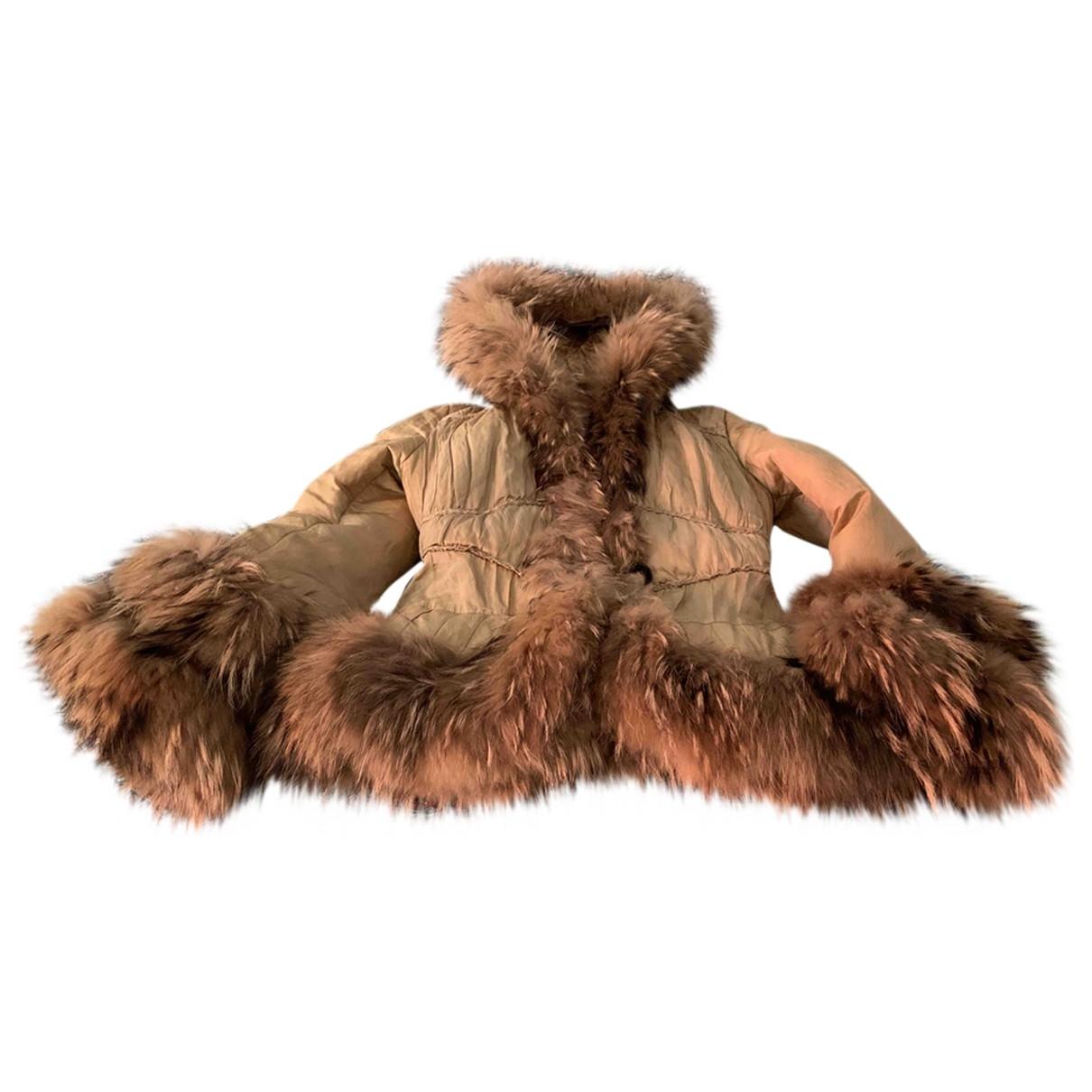 Moncler - Manteau   pour femme - camel