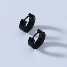 Men Simple Hoop Earrings