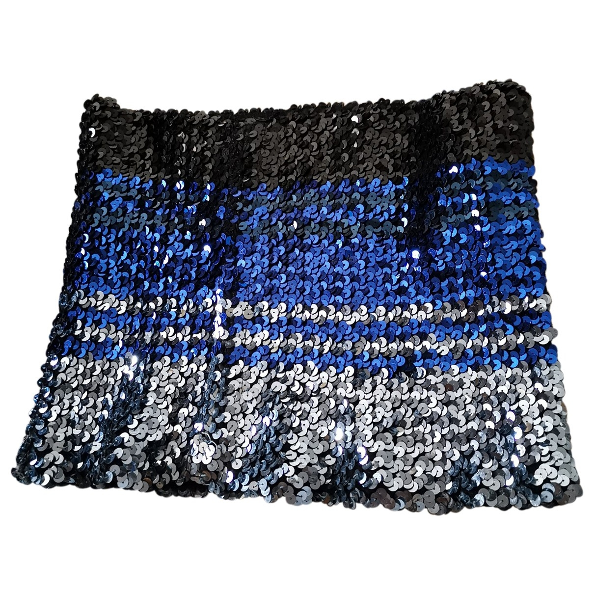 Non Signé / Unsigned \N Blue Glitter  top for Women One Size FR