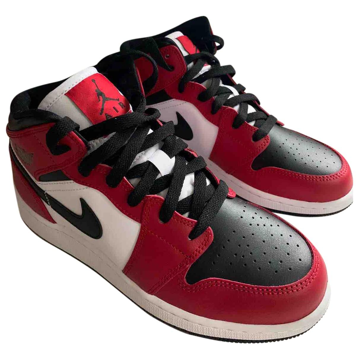 Deportivas Air Jordan 1  de Cuero Jordan