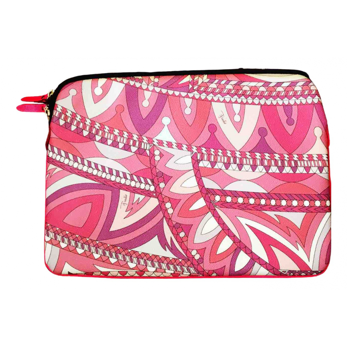 Emilio Pucci N Pink Cloth Purses, wallet & cases for Women N
