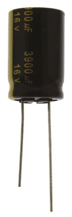 Panasonic 3900μF Electrolytic Capacitor 16V dc, Through Hole - EEUFM1C392 (5)