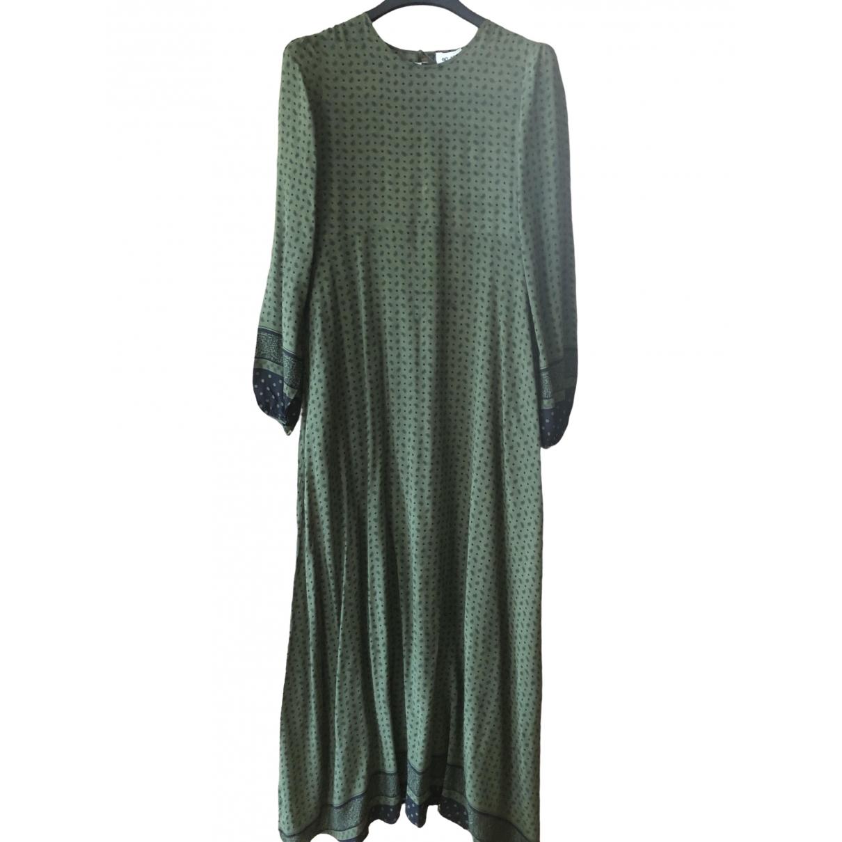 Bel Air \N Kleid in  Khaki Viskose
