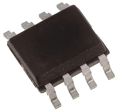 Texas Instruments TMP75AID, Temperature Sensor -55 → +127 °C ±1°C Serial-I2C, SMBus, 8-Pin SOIC (5)