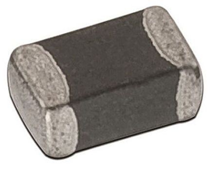 Wurth Elektronik Wurth WE-PMI Series 10 μH ±20% Multilayer SMD Inductor, 0805 (2012M) Case, SRF: 25MHz Q: 35 650mA dc 500mΩ Rdc (10)