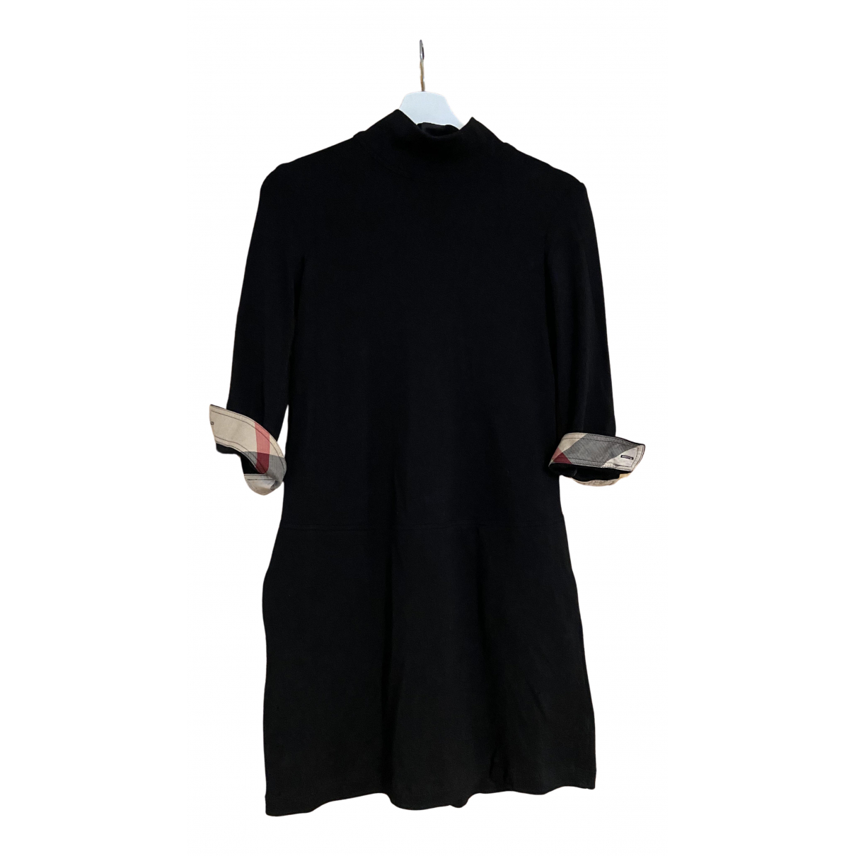 Burberry \N Kleid in  Schwarz Kaschmir