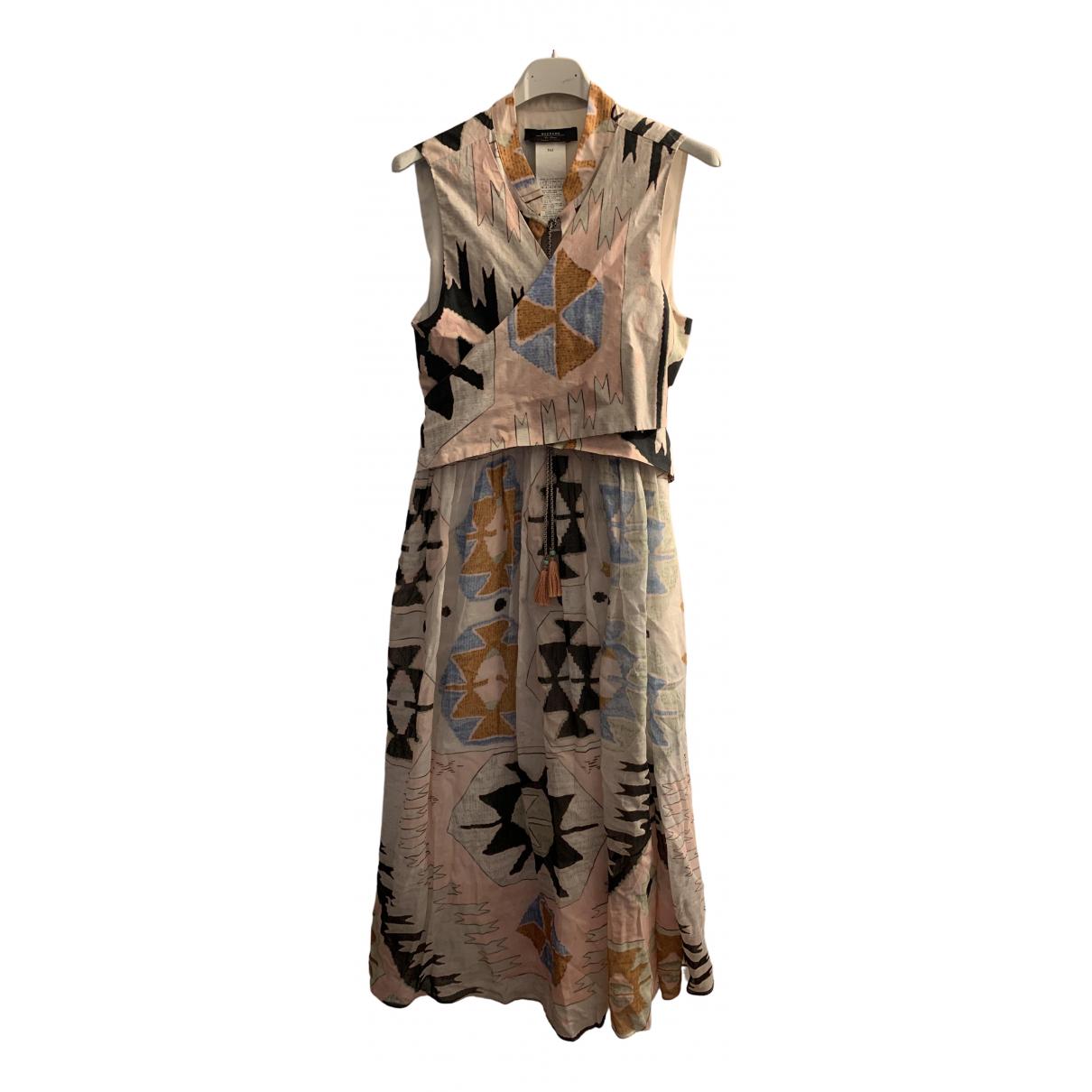 Max Mara Weekend \N Kleid in  Rosa Baumwolle