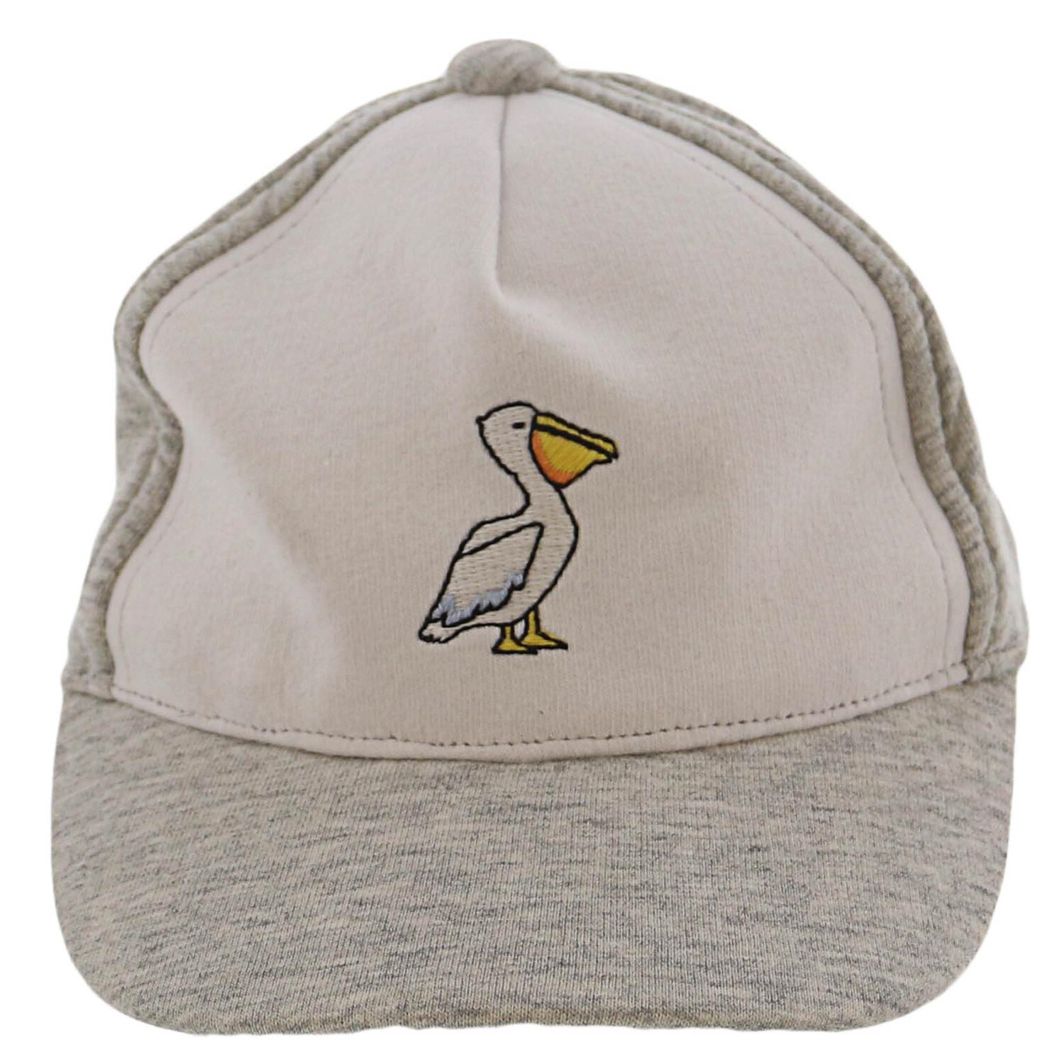 Janie And Jack Grey Pelican Cap Hats & - 3-6 Months