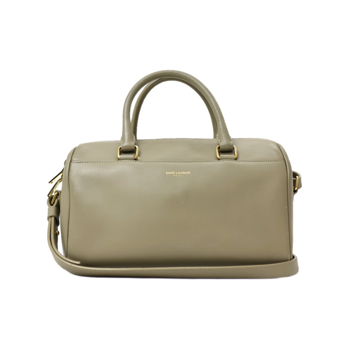 Saint Laurent \N Beige Leather handbag for Women \N