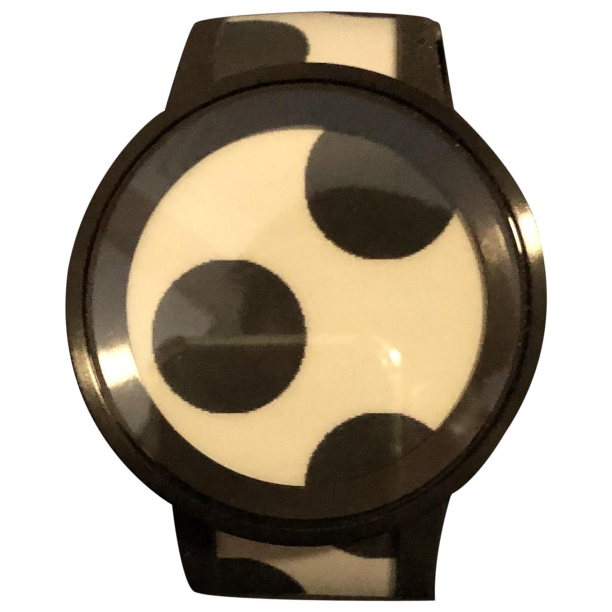 Sony \N Black Steel watch for Men \N