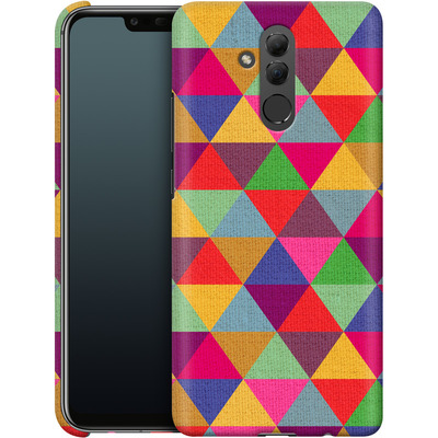Huawei Mate 20 Lite Smartphone Huelle - In Love With Triangles von Bianca Green