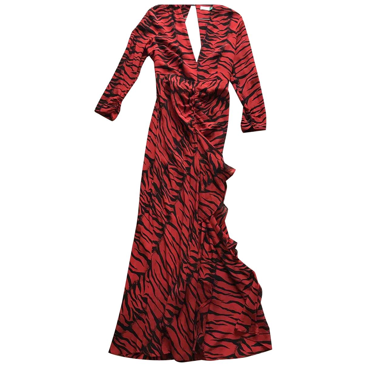 Rixo \N Red Silk dress for Women 40 IT