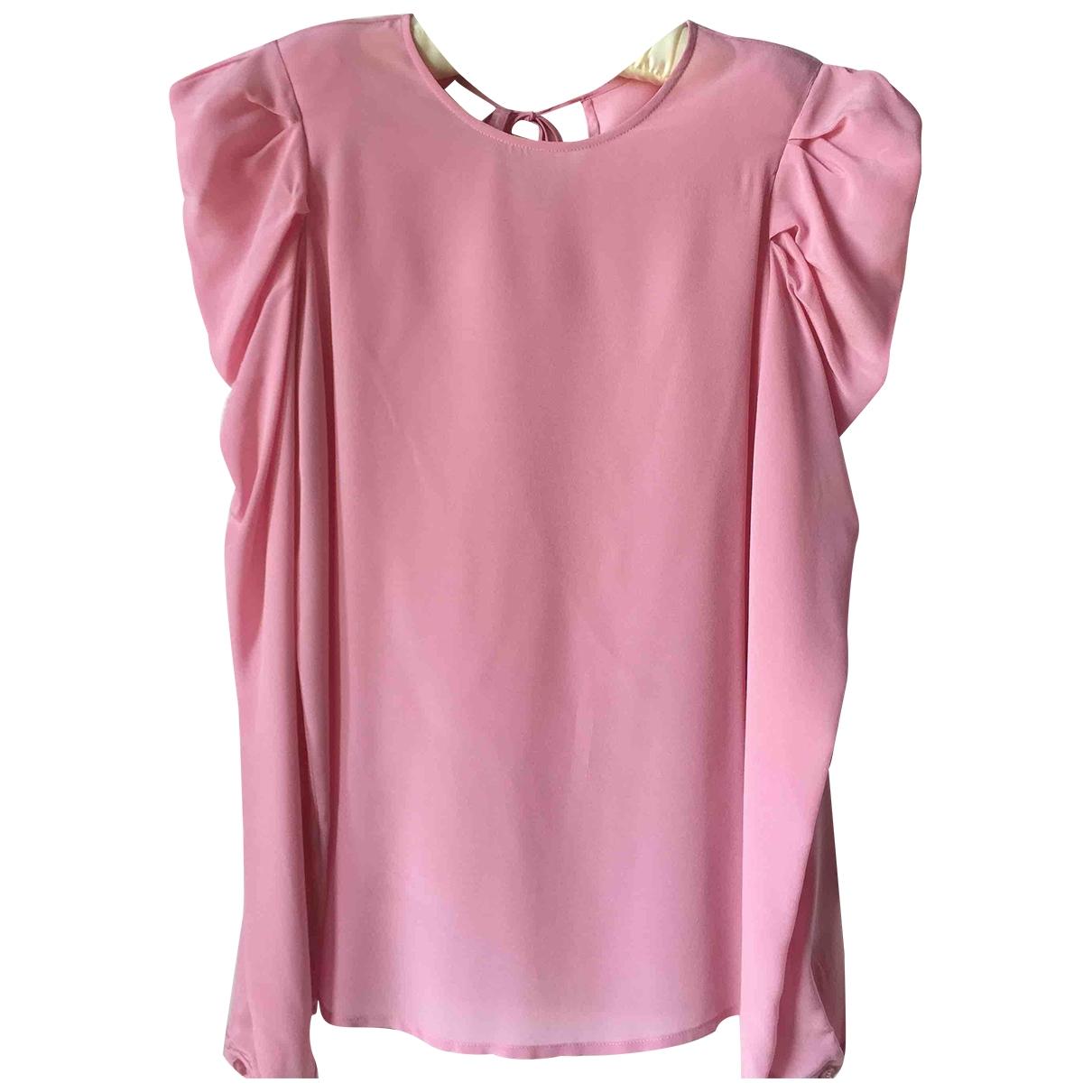 Pinko \N Pink Silk  top for Women 38 IT
