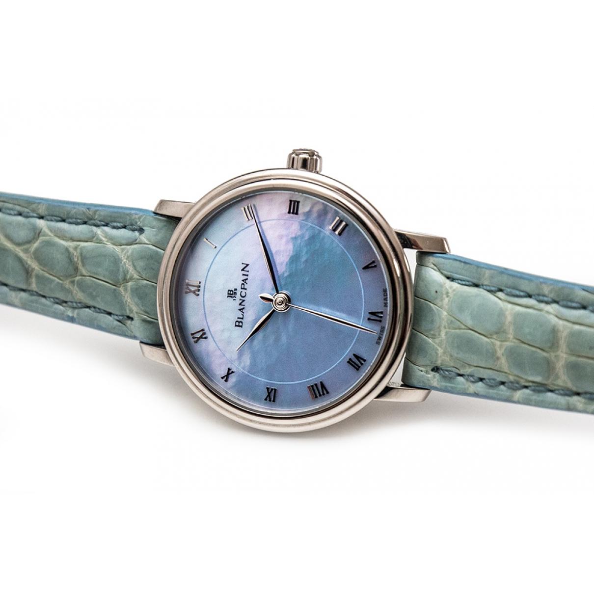 Blancpain Villeret Automatique Uhr in  Silber Weissgold