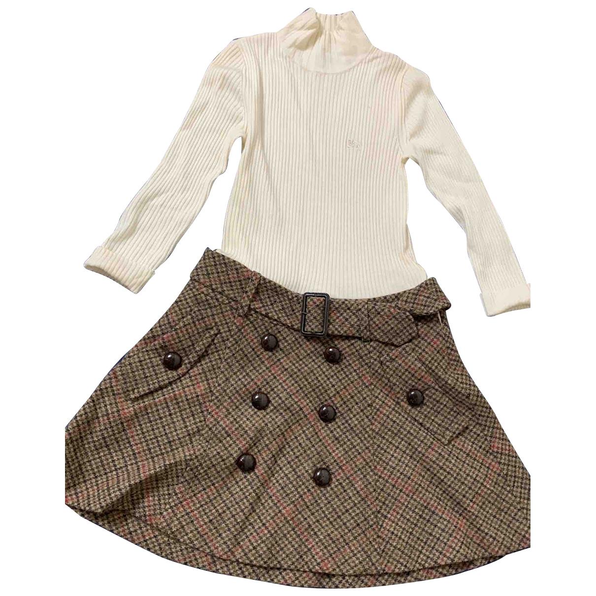 Burberry \N Kleid in Wolle