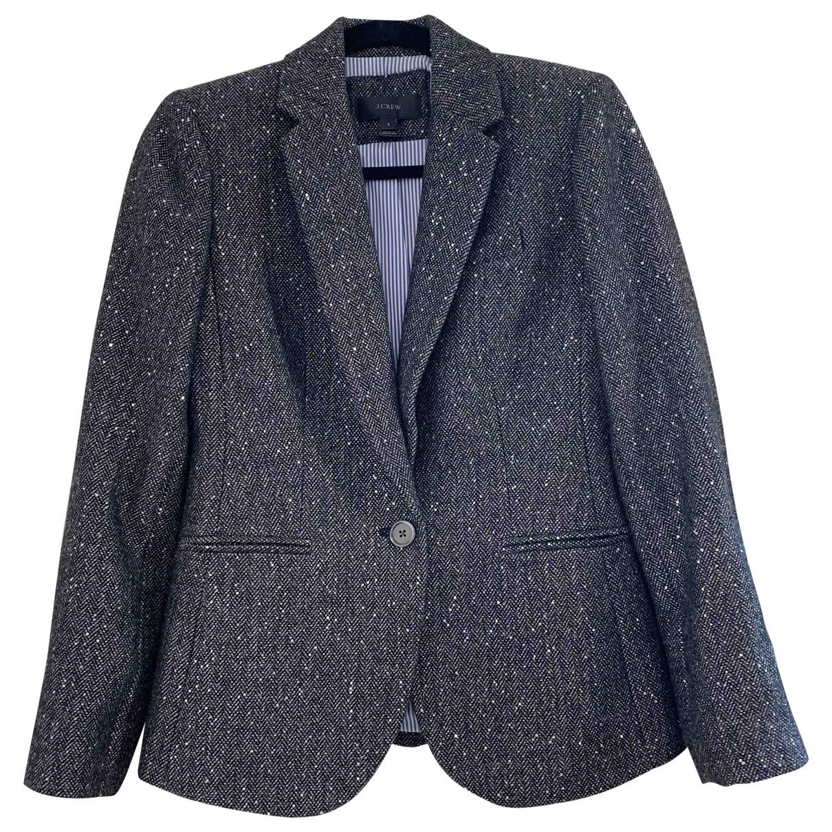 J.crew \N Grey Wool jacket for Women 2 0-5