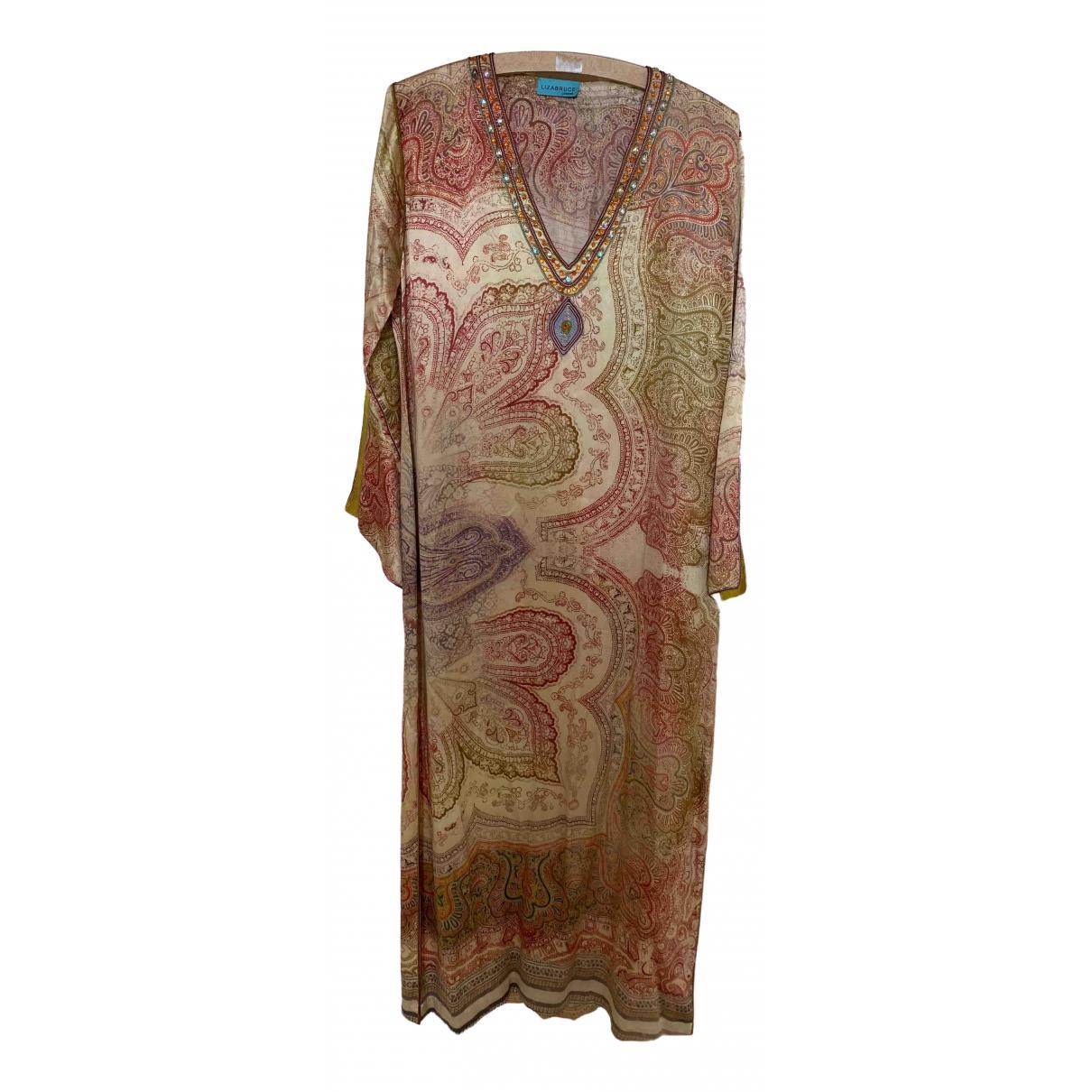 Liza Bruce \N Gold Silk dress for Women 10 UK