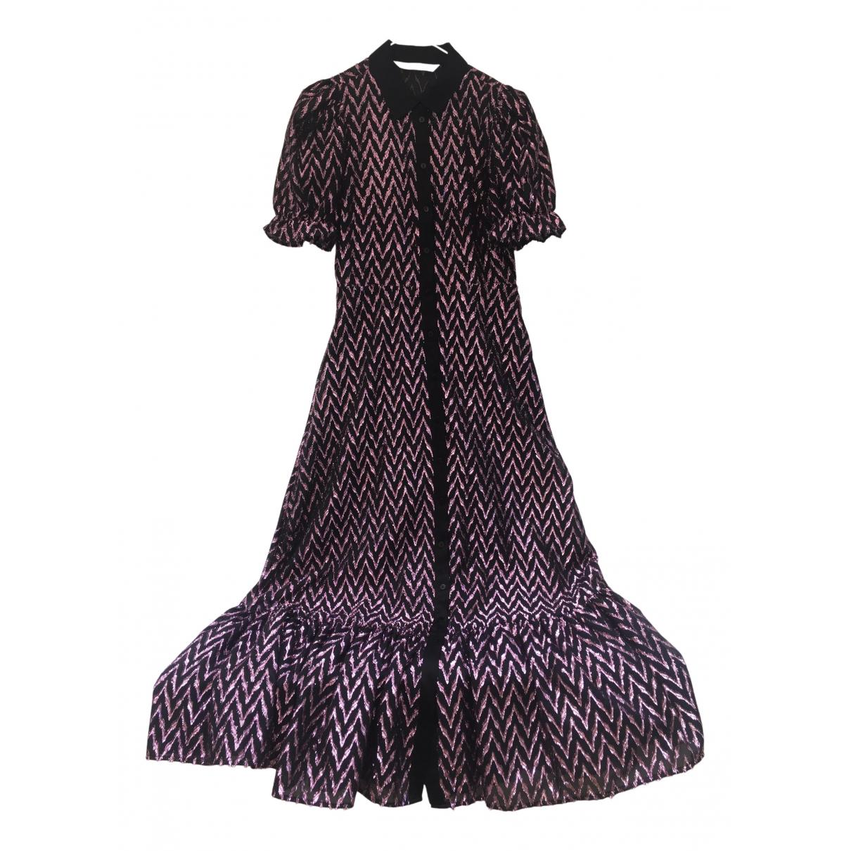 Zara - Robe   pour femme en a paillettes - rose