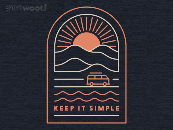 Keepin' It Simple T Shirt