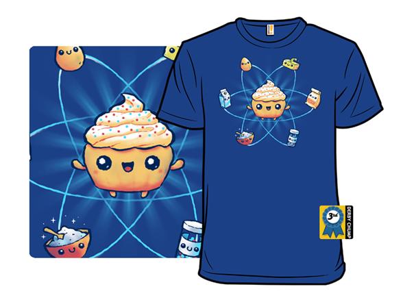 Cupcake Science T Shirt