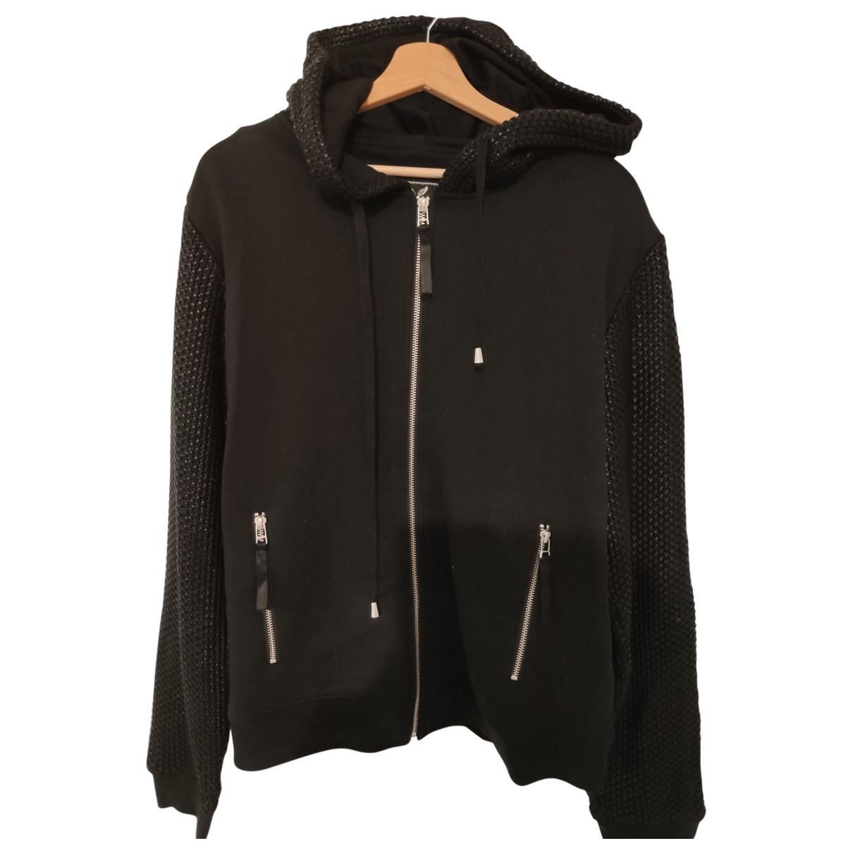 Unconditional \N Pullover.Westen.Sweatshirts  in  Schwarz Baumwolle