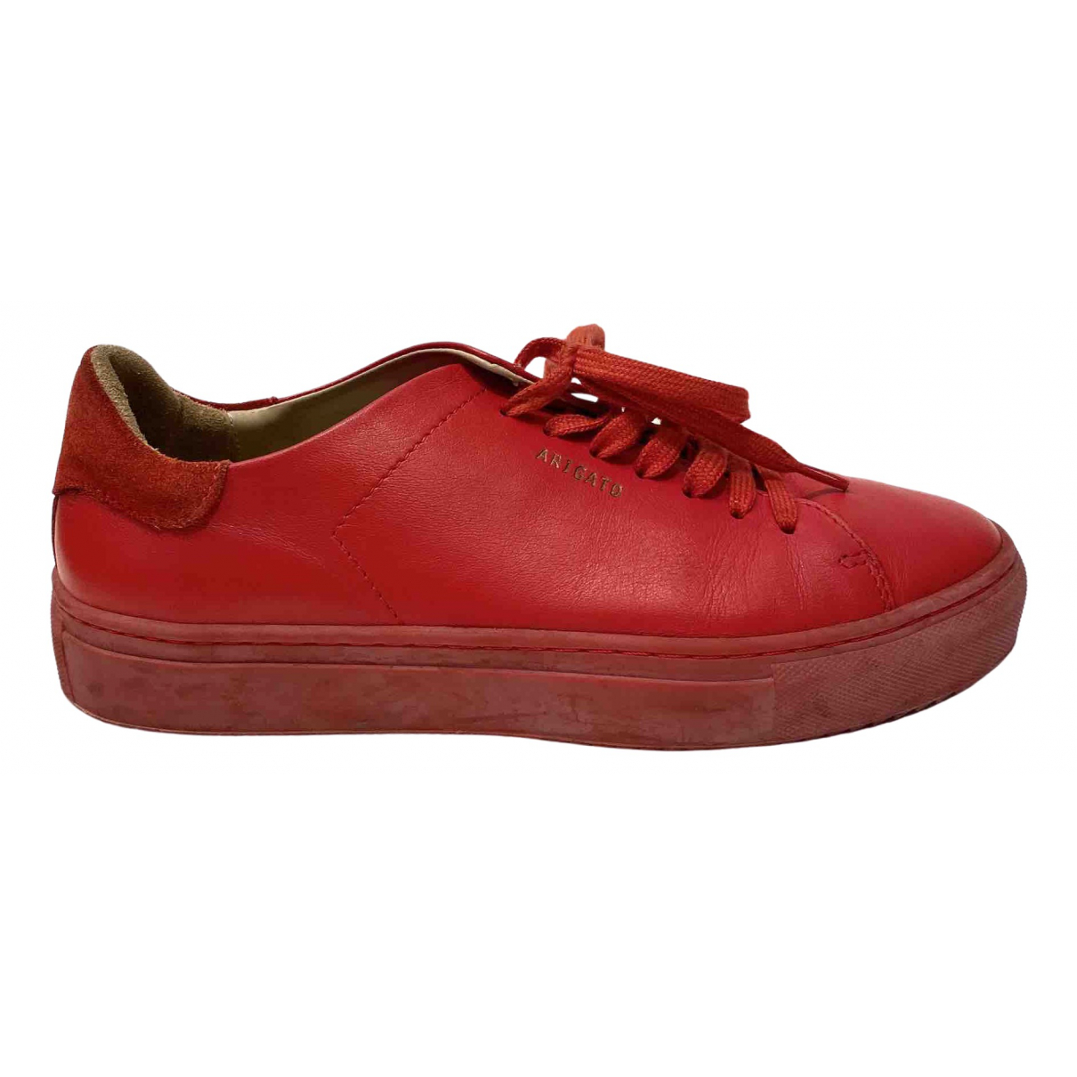 Axel Arigato - Baskets   pour femme en cuir - rouge