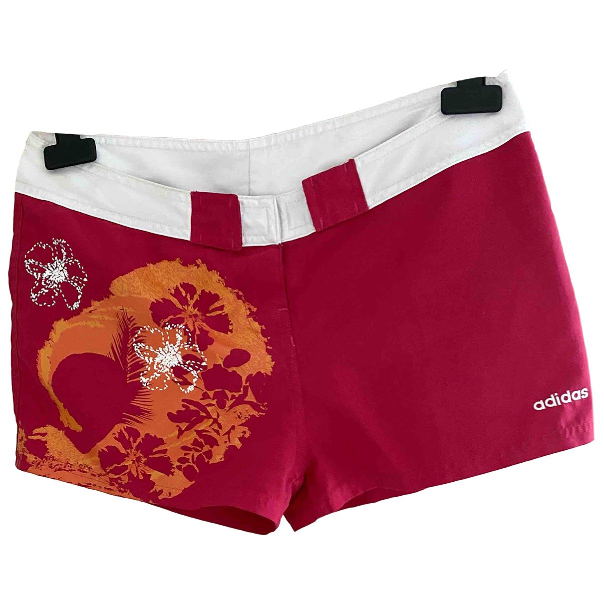 Adidas \N Shorts in  Rot Baumwolle