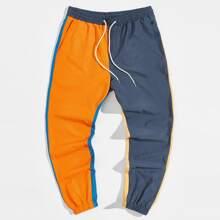 Pantalones para hombre Bolsillo Monocolor Preppy