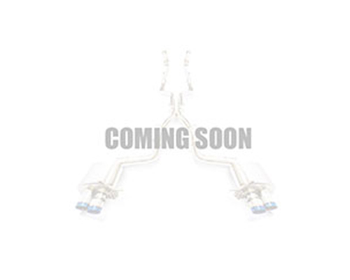 FI Exhaust MB-222A-CBE Front and Mid- X Pipe Valvetronic Muffler Mercedes-Benz W222 AMG S63 13-20