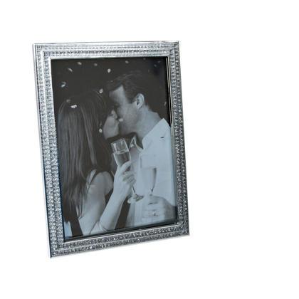 Cadre photo strass carrés, cadre photo décor à la maison, 5
