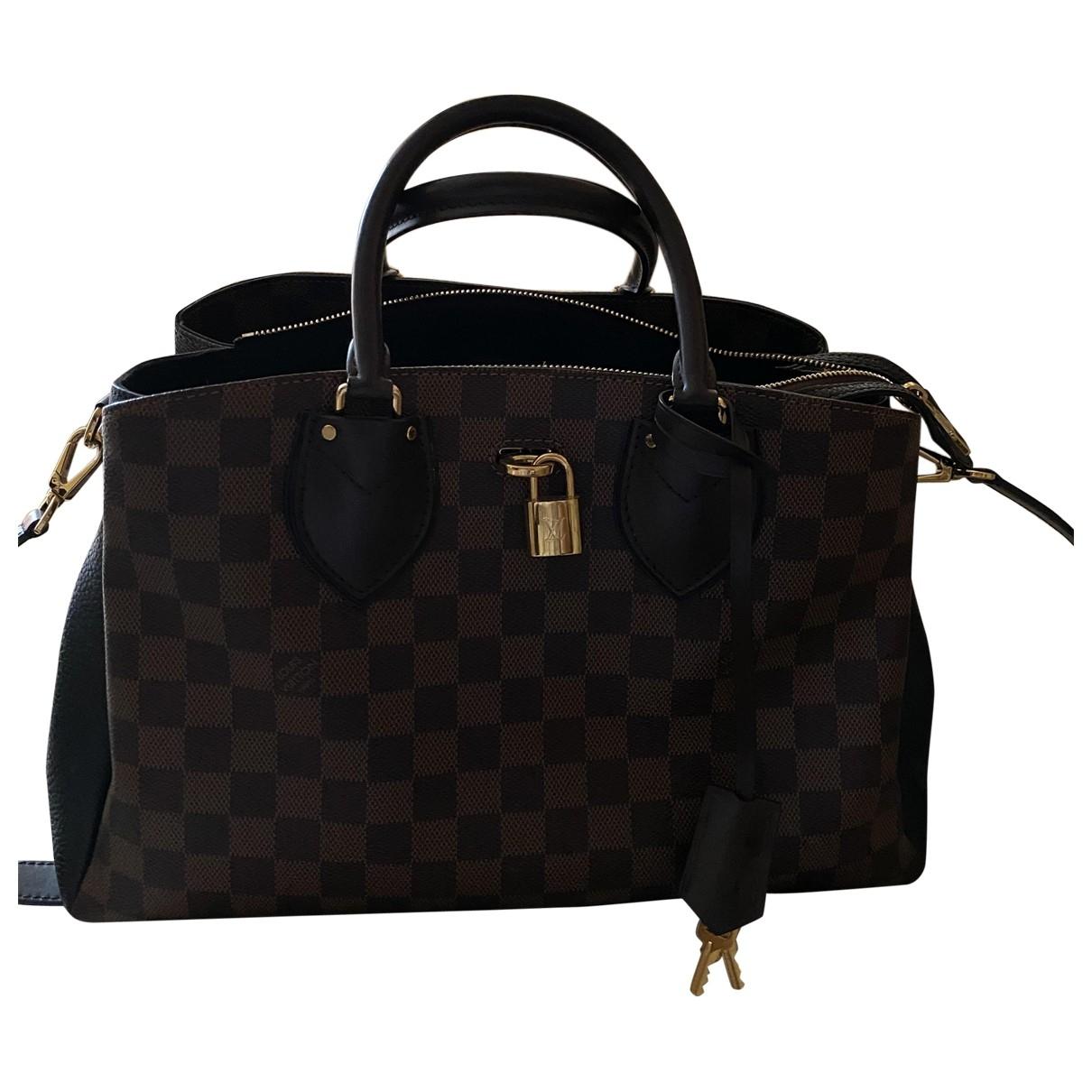 Louis Vuitton Normandy Black Cloth handbag for Women \N