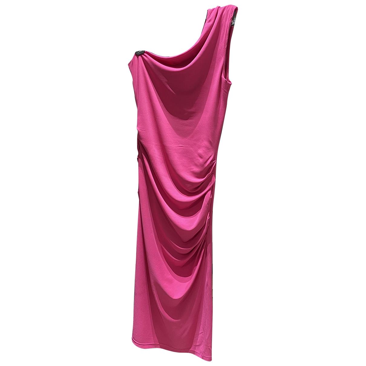 Michael Kors - Robe   pour femme en coton - elasthane - rose