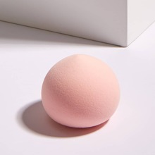 1pc Peach Shaped Makeup Blender