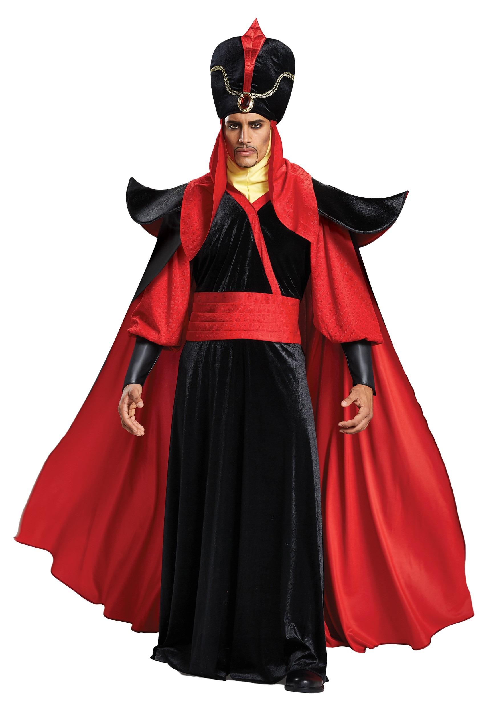 Plus Size Jafar Men's Costume - Aladdin