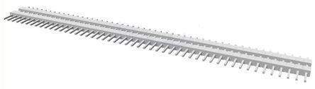 TE Connectivity , AMPMODU MOD II, 50 Way, 1 Row, Straight Pin Header