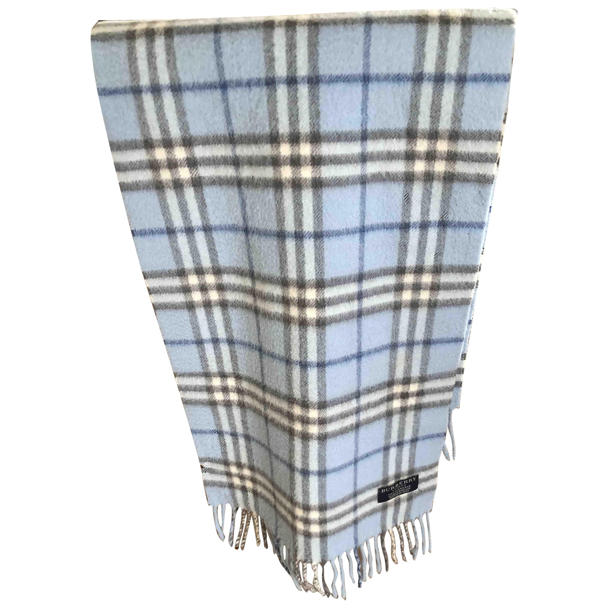 Burberry \N Blue Cashmere scarf for Women \N