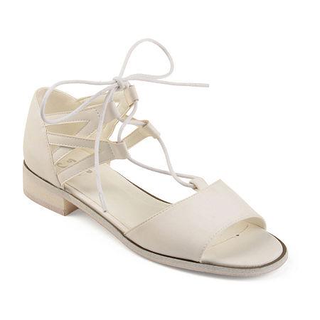 Journee Collection Womens Ingrid Slip-On Shoe, 8 Medium, White