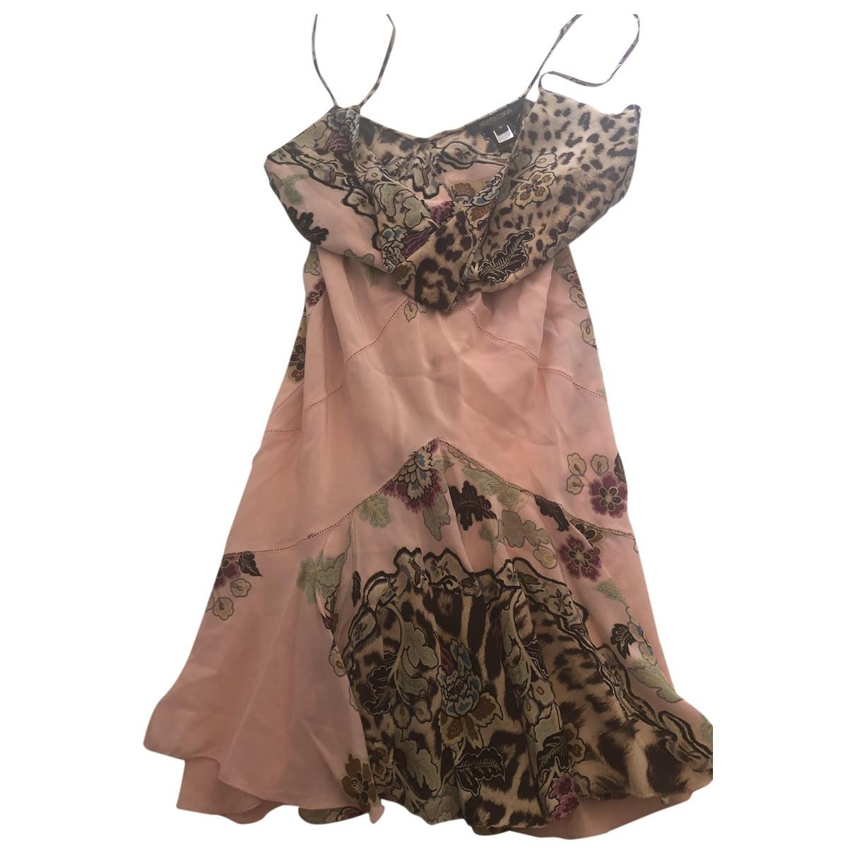 Roberto Cavalli - Robe   pour femme en coton - multicolore