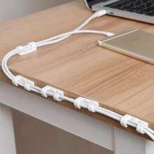 20pcs Data Cable Desktop Organizer