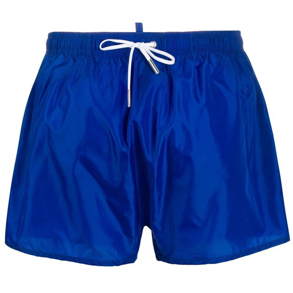 Dsquared2 Back Logo Shorts Colour: BLUE, Size: MEDIUM