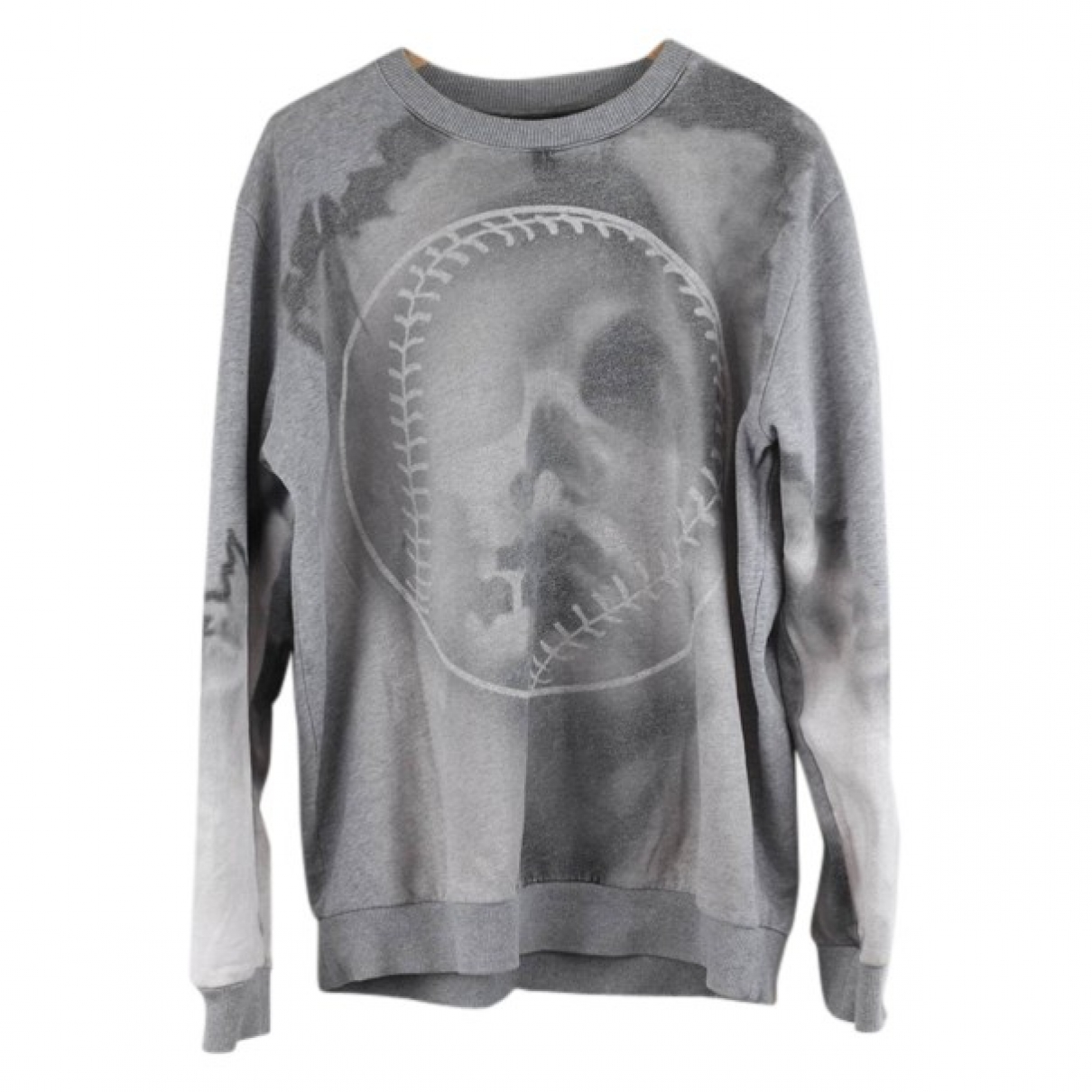 Givenchy \N Pullover.Westen.Sweatshirts  in  Grau Baumwolle
