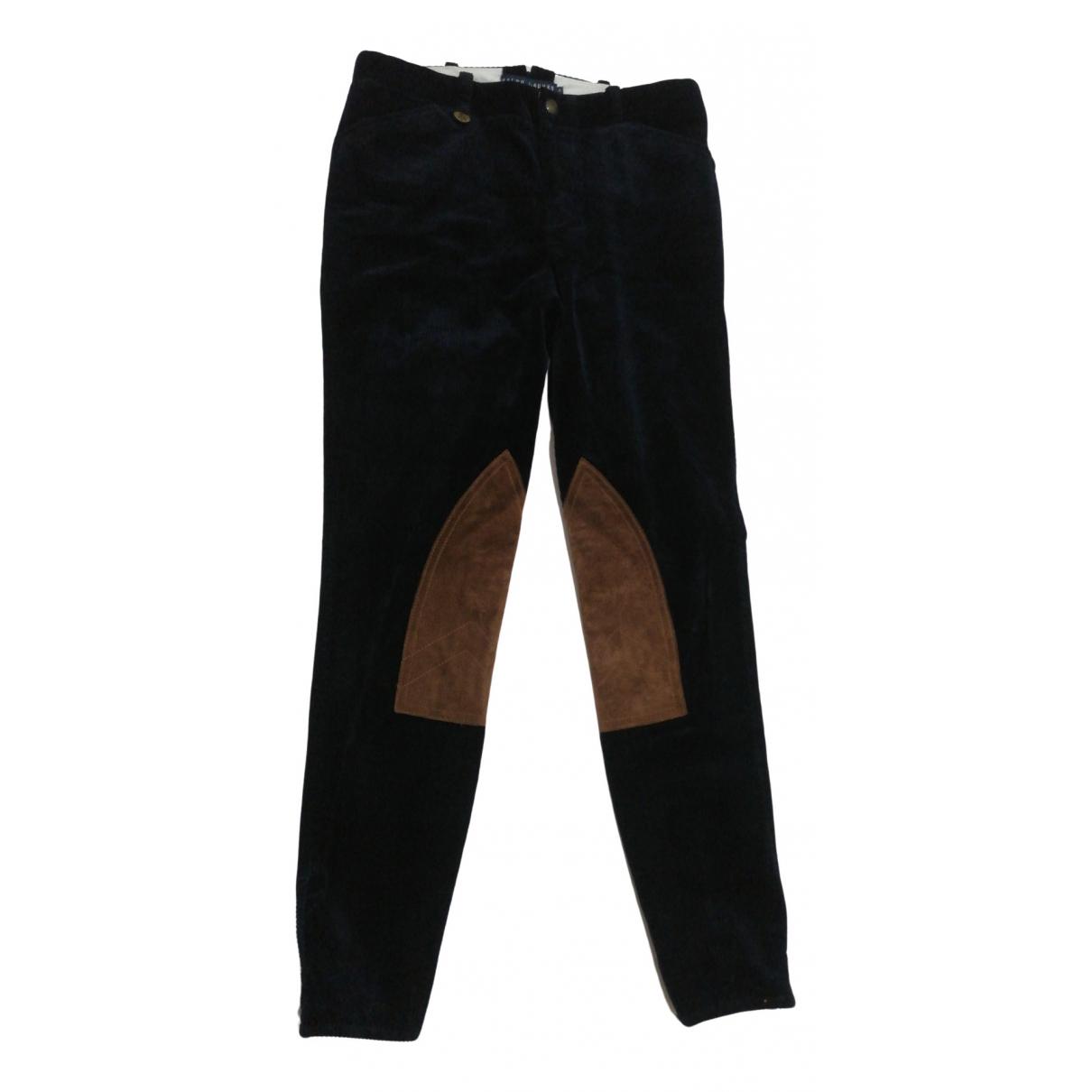 Ralph Lauren - Pantalon   pour enfant en coton - bleu