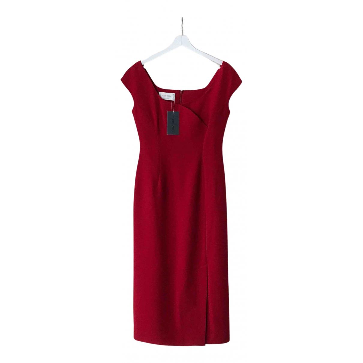 Alberta Ferretti \N Kleid in  Rot Viskose