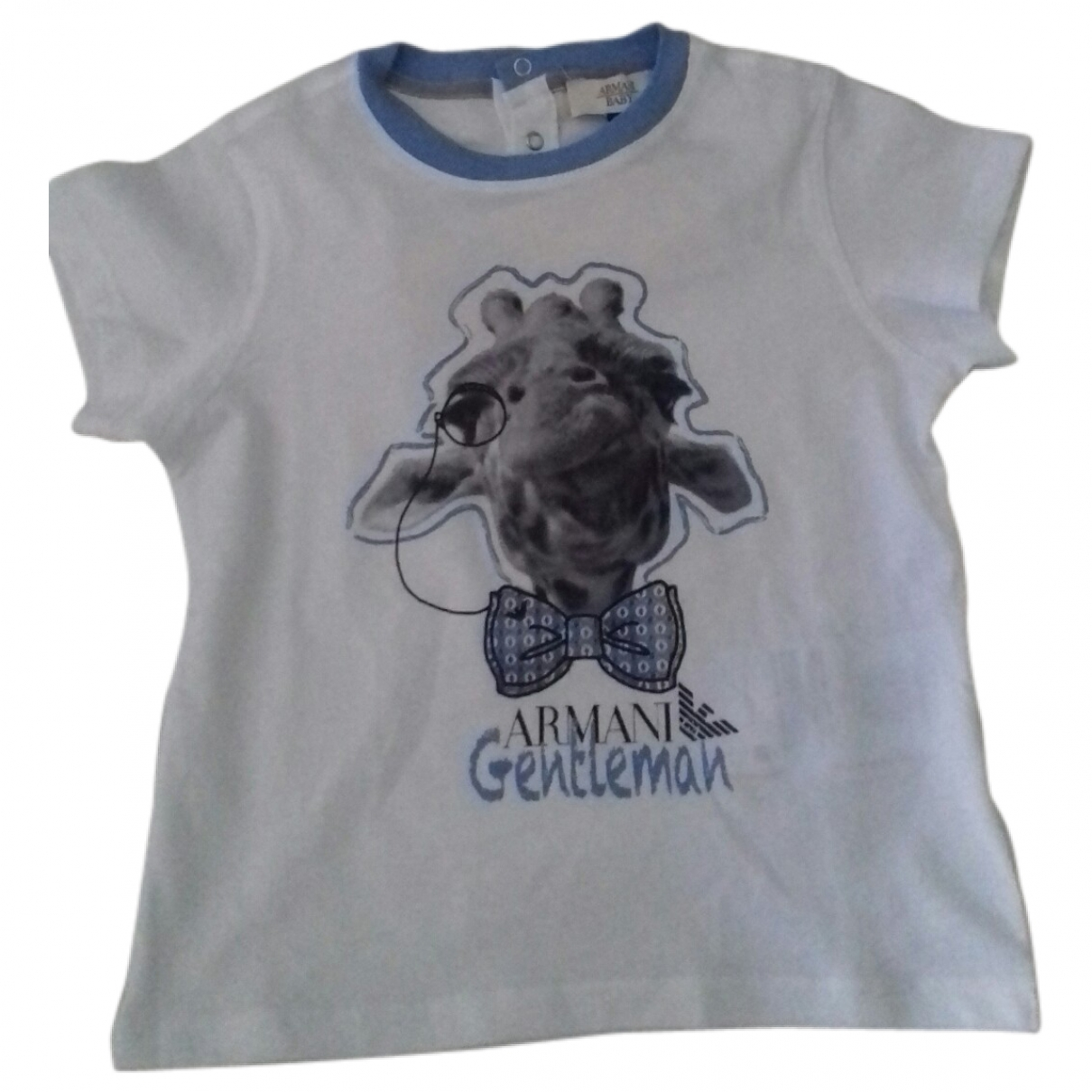 Armani Baby \N White Cotton  top for Kids 18 months - up to 81cm FR
