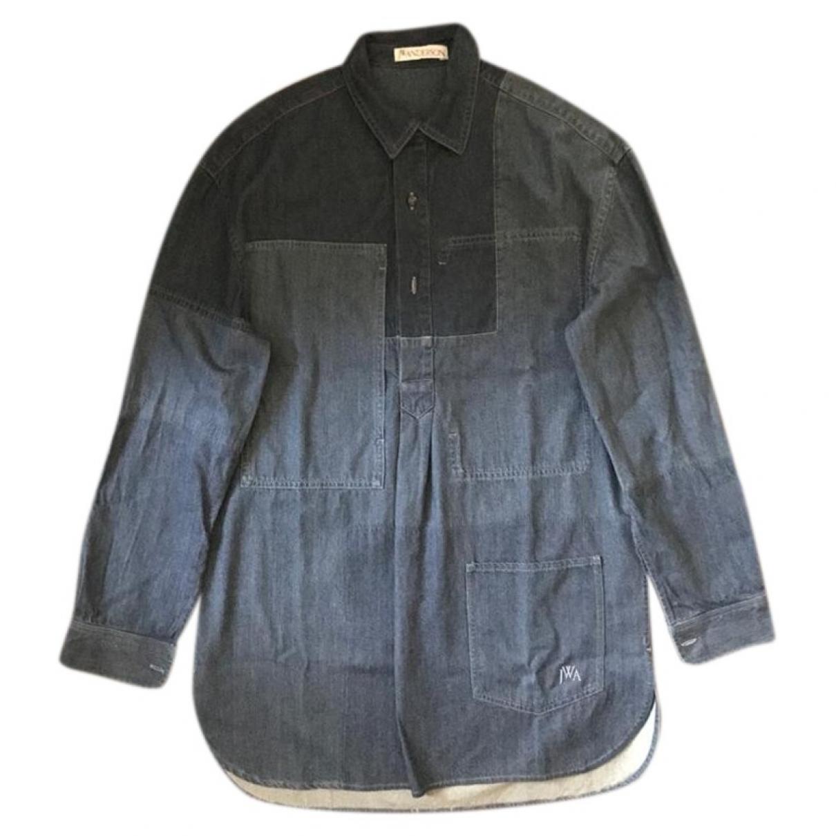 J.w. Anderson - Chemises   pour homme en coton - bleu