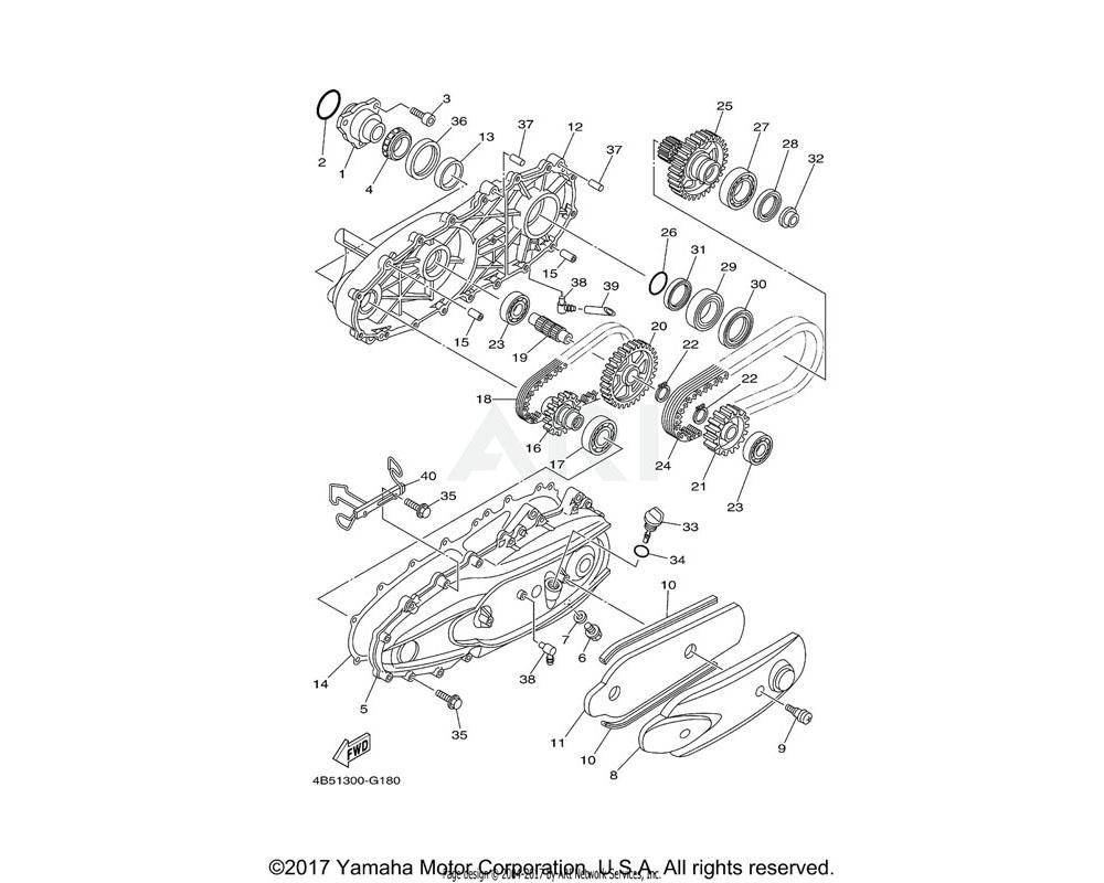 Yamaha OEM 5GJ-15362-01-00 PLUG, OIL LEVEL
