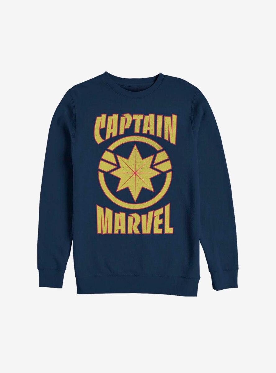 Marvel Captain Marvel Star Sweatshirt