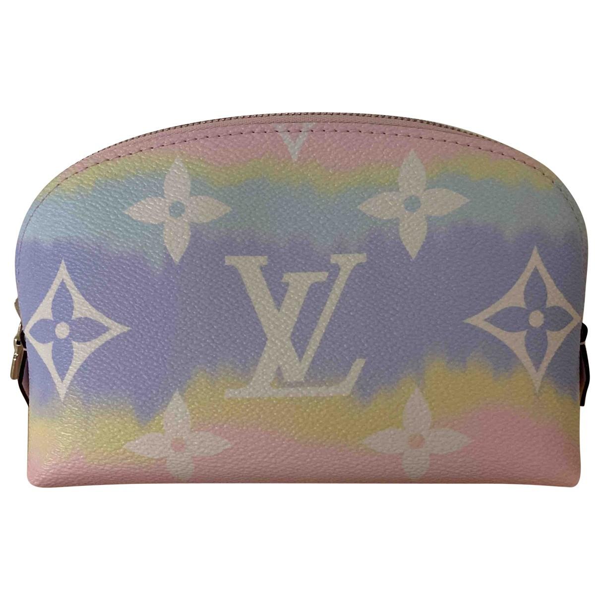 Louis Vuitton - Sac de voyage   pour femme en toile - multicolore