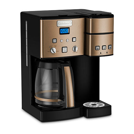 Cuisinart  Coffee Center 12 Cup Coffeemaker And Single-Serve Brewer, One Size , Brown