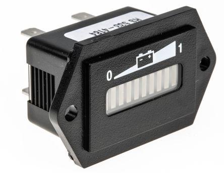 Curtis 24Vdc LED battery meter, gel battery